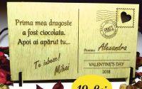 "Felicitare gravata ""Valentines day"""