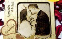 "Magnet de frigider gravat  ""Valentines Day"""