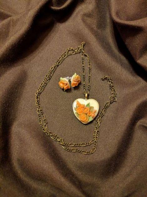Inima cu trandafiri
