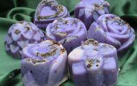 Sapun natural handmade cu lavanda