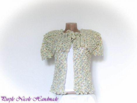 Imperial - jacheta  capa  bluza crosetata