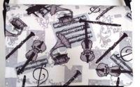 Geanta neagra casual muzicala
