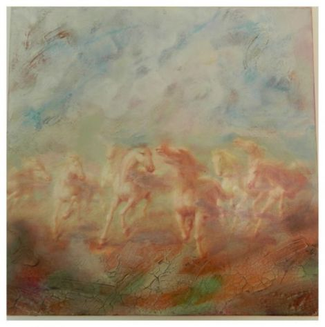 Cai salbatici-tablou