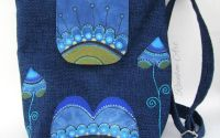 Geanta dreptunghiulara - Blue elegance