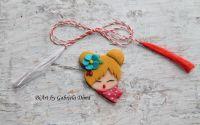 Fetita dragalasa - floare turcoaz
