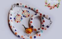Set Bijuterii din margele Toho Flower Power