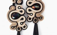 Cercei statement soutache