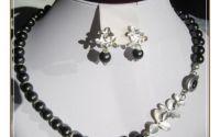 Set- perle negre de sidef