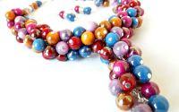 Set de bijuterii - margele de plastic 01