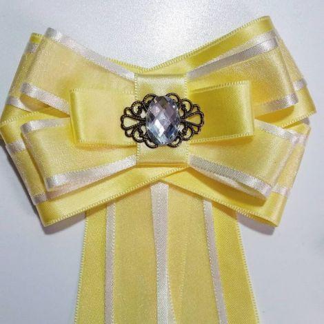 Jabou-cravata galben