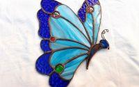 Fluture vitraliu suncatcher