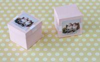 invitatie botez cutiuta cu carduri insiruite