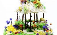 Aranjament Foisor cu flori