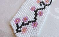 Flori de cires - Cravata Tesuta