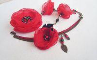 flori rosii vaporoase