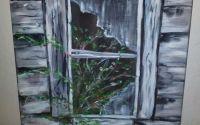 Pictur - Fereastr cu plante