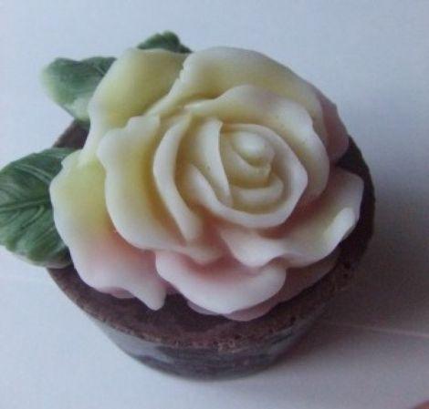 Sapun-Trandafir in ghiveci