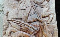 Icoana in lemn