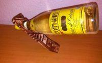 Suport pentru sticla de vin  din lemn