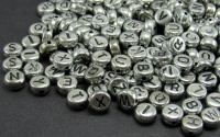 250 buc litere alfabet mix sidefate disc cal. II