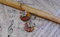Moon earrings - boho earrings