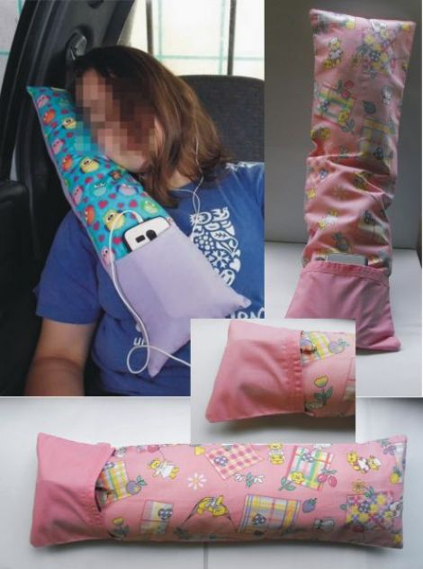 Pink toys - Travel Pillow