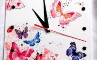 ceas cu fluturasi