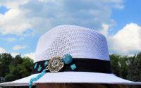 Palarie de vara cu accesorii handmade