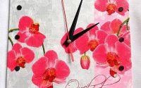 ceas cu orhidee