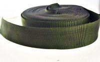 chinga verde inchis  latime 37 mm