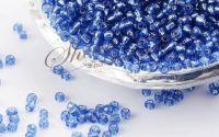 Margele de nisip Royal Blue 2mm 20gr
