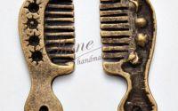 Charm piaptan bronz antichizat