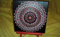 Set sevalet + panza mandala painting