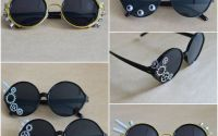 ochelari de soare decorati de festival steampunk