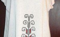 Bluza si bratara cu motive moldave