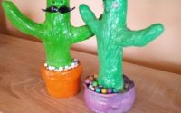 Cuplu Cactus Hand-Made