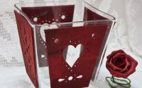 Vas decorativ Red Hearts