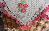 Paturica Tricotata din Bumbac - bebelusi