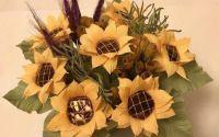 Cosulet cu floarea soarelui si ciocolata