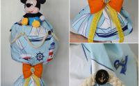 Lumanare handmade cu lenjerie si Mickey