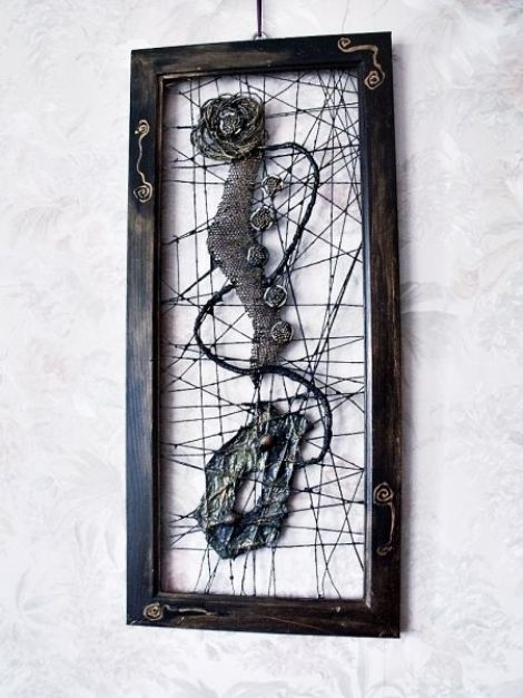 panou decorativ - herbal