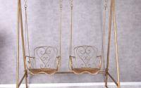 Balansoar Art Nouveau cu doua locuri