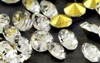 Strasuri conice argintii 1.6mm
