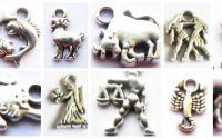 Charmuri figurina zodiac argintiu