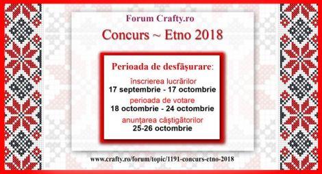 Concurs Etno 2018