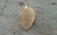 Pandantiv frunza 75x36 mm