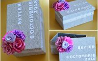 cutie botez personalizata pentru trusou