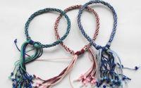 Bratara colorata 3 -Friendshi kumihimo  bracelet