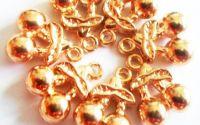 Charm 2 cirese auriu