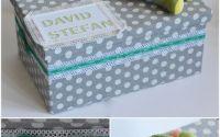 Cutie cadou botez personalizata pentru trusou